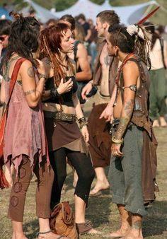 Hippie people