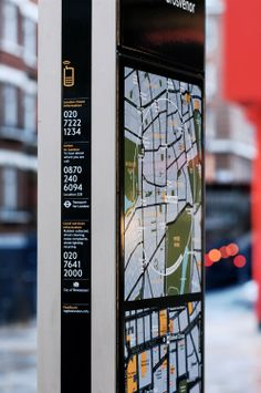 The Legible London signage project, with interactive maps and mobile technology, encourages and improves people's confidence to travel on foot.