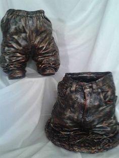 Tokreenbroekies Cement Flower Pots, Concrete, Ideas, Thoughts