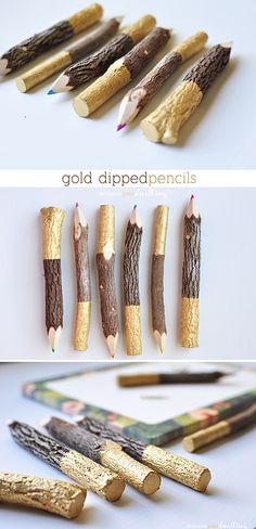Gold Dipped Pencil, Delineate Your Dwelling