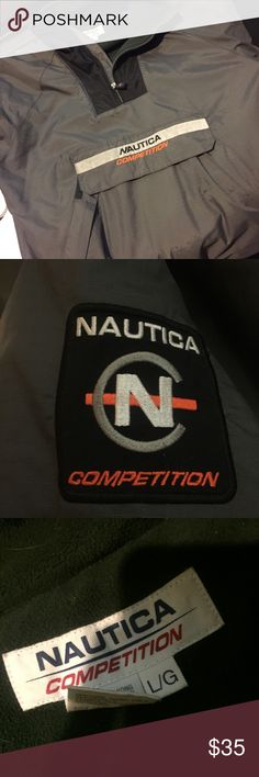 76d6786d8d8 Nautica competition jacket windbreaker Nautica competition jacket windbreaker  size large perfect condition Nautica Jackets   Coats Windbreakers