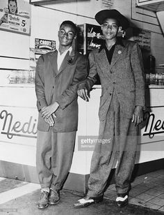 Boys in zoot suits. No other information available.