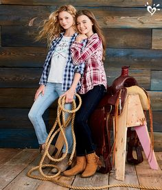 The new Rock Western collection! Warm up to new prints and critter cuteness with… - Preteen Clothing Preteen Fashion, Teen Girl Fashion, Teenage Girl Outfits, Kids Outfits, Kids Fashion, Cute Outfits, Fall Fashion, Fashion Outfits, Justice Clothing