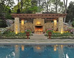 Pool Landscaping Borders Edging Design, Pictures, Remodel, Decor and Ideas - page 81