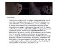 HOW CAN U NOT SHIP STYDIA AFTER READING THIS.