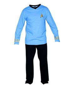Look what I found on #zulily! Star Trek Spock Pajama Set - Men's Regular by STAR TREK #zulilyfinds