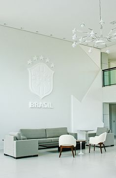 CBF | corporate | interior | branding | signage | brazilian soccer | by Packaging Brands