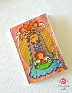 Baptism favor / First communion favor / Pink by MirletteIslasArt, $3.75