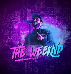 The Weeknd Background, Abel Makkonen, Abel The Weeknd, Most Handsome Men, Profile, Neon Signs, Movie Posters, User Profile, Film Poster
