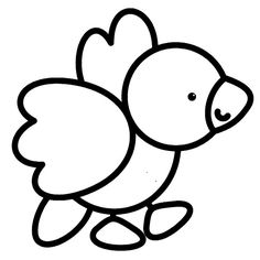 COLORIAGE PETITS Easy Coloring Pages, Animal Coloring Pages, Coloring Pages To Print, Coloring For Kids, Coloring Sheets, Coloring Books, Abc Crafts, Sunday School Kids, Preschool Colors