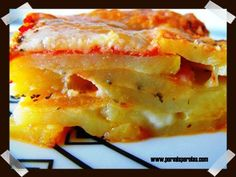 Patatas a la parmesana