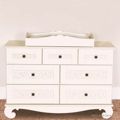 Roomy.  Elegant.  Versatile. Chelsea dresser in white.