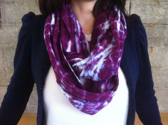 Easy Tie Dye Scarf | eHow.com.... great for fun summer scarves!