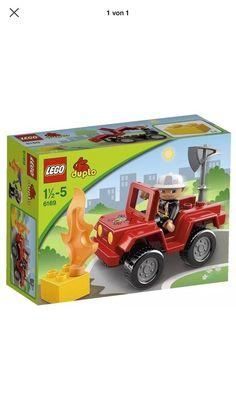 Mein Lego Duplo Feuerwehrauto 6169 von Lego! Größe Ab 18 / Monaten für 10,00 €. Schau´s dir an: http://www.mamikreisel.de/spielzeug/zum-bauen-playmobil-lego-and-co-dot/34646975-lego-duplo-feuerwehrauto-6169.
