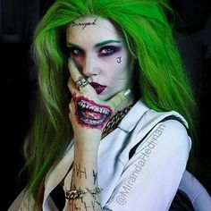 I love Joker!!! #Halloweencostumes #halloweenmakeup | Halloween costumes | Halloween costume ideas