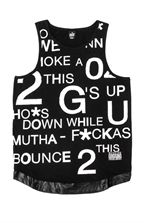G's Up Tank Singlet Available at Needles And Threads Store  // www.needlesandthreads.co.nz