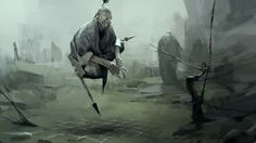 3d monks by Sergey Kolesov | Illustration | 2D | CGSociety