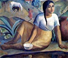 Modernismo expresionista por  el hondureño Zelaya.
