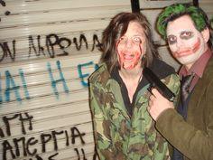 joker & zombie girl