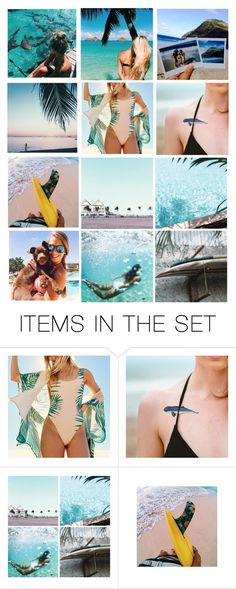 Summer Vibes by pjhardy on Polyvore featuring arte