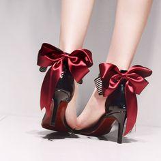 maylaclassicベルグラッセサンダルリボンパーティーピンヒールリボン黒白赤ストラップレディース靴美脚ドレス歩きやすいヒールミドルヒール7cm【楽ギフ_包装】02P11Apr15