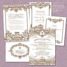 victorian invitations