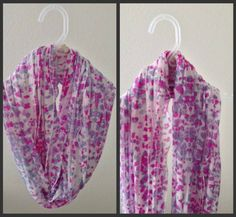 Birthday Gifts : DIY Infinity Scarves |