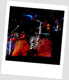 Rock photography: Alice Cooper & Hurricane Nita Gröna Lundissa, värikuvina
