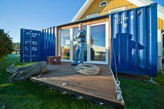 Neem een kijkje in dit containerhuis voor minder dan 2500 eu…