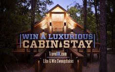 The winner of TravelOK's March 2016 Facebook contest won a luxurious cabin stay at Broken Bow Hidden Hills Cabins in Oklahoma. Each of these cabins features top-notch amenities like cozy fireplaces, outdoor hot tubs, private decks and fully furnished kitchens.