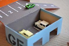 upcycled shoe box!
