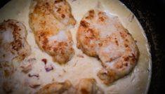 Krämig kyckling carbonara