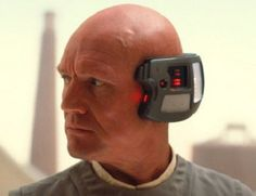 "stopthatmyhandsaredirty:  "" 100+ Favorite Star Wars Characters 89. Lobot; administrative aide to Lando Calrissian (male human)  ""You think Lobot's mute, but he's just too busy talking to the central computer to bother speaking to us 'organics'."" -..."