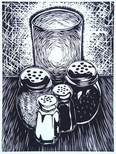 mike gilligan linocut cabbage - Google Search