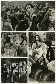 """Culver City, CA: Four-Leaf Productions / Metro-Goldwyn-Mayer [MGM], 1965. Collection of 4 vintage black-and-white reference photographs from the 1965 film """"Harum Scarum"""" starring Elvis Presley"""