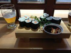 Cuñao, qué has comido hoy? Kenji sushi. Parte vieja de Donostia