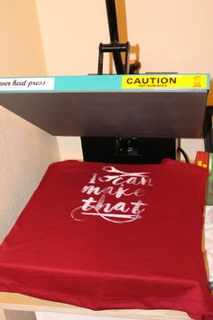 DIY Screen Printing :: Using your Silhouette — Middle River Studio Screen Printing Process, Screen Printing Shirts, Printed Shirts, Silhouette Cameo Tutorials, Silhouette Projects, Vinyl Crafts, Vinyl Projects, Circuit Projects, Screened Porch Decorating