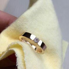 Wedding Rings For Women, Wedding Bands, Rose Gold Band Ring, Mens Gold Jewelry, Gold Models, Couple Rings, Bangles, Bracelets, Cartier Love Bracelet
