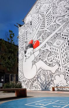 Wall art by Millo Milano, Italia Graffiti, Have A Nice Trip, Picture Places, Italy Holidays, Places In Italy, Tourist Places, Visit Italy, Travel Tours, Street Artists