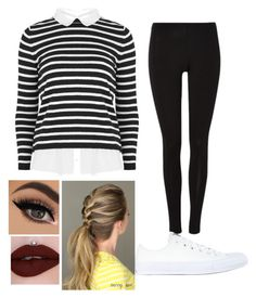 """""""Untitled #464"""" by slytherin427 ❤ liked on Polyvore featuring Converse"""