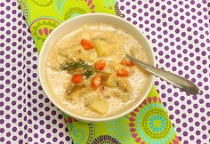 Brainy Fish Chowder is a regular meal for us in winter: via MealMakeoverMoms.com/kitchen