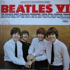 The Beatles – LP Beatles IV Obwohl es die Nummer 6 trug, war es bereits das 7. von CAPITOL RECORDS in den USA veröffentlichte Album und erschien 1965. Vinyl gut, Cover altersbedingter vereinzelter Abrieb. www.starcollector.de