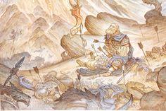 Justin Gerard - Artwork - Hador's Fall - Nucleus | Art Gallery and ...