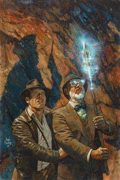 Henry Jones Jr, Harrison Ford Indiana Jones, Indiana Jones Films, Rock Poster, Cultura Pop, New Art, Comic Art, Fantasy Art, Pop Culture