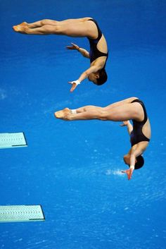 2) favorite olympic sport - high dive