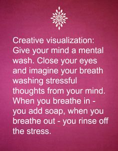 Relaxation tip no. 13