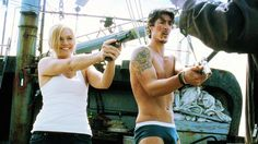 Eric Balfour I love how Audrey was cracking up through this whole scene, so funny!