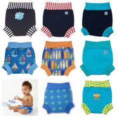 Splash About Neoprene Swim Happy Nappy BOY DESIGNS Baby Toddler | Funswim