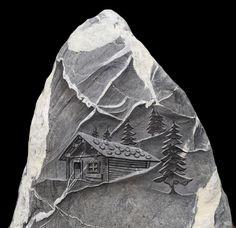 Alphuette Stones, Kunst