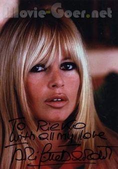 大好きなお顔  Bridget Bardot